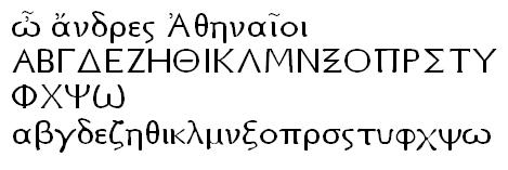 Athena Unicode