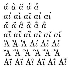 ά ὰ ᾶ ἀ ἁ/αί αὶ αῖ αἰ αἱ/ἄ ἅ ἂ ἃ ἆ ἇ/αἴ αἵ αἲ αἳ αἶ αἷ/Ά Ἀ Ἁ Αί Αἰ Αἱ/Ἄ Ἅ Ἂ Ἃ Ἆ Ἇ/Αἴ Αἵ Αἲ Αἳ Αἶ Αἷ